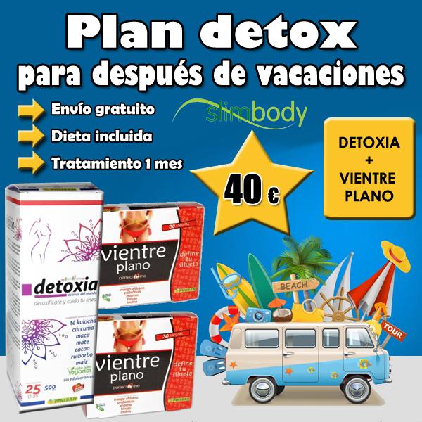 Plan Detox. Detoxia + vientre plano